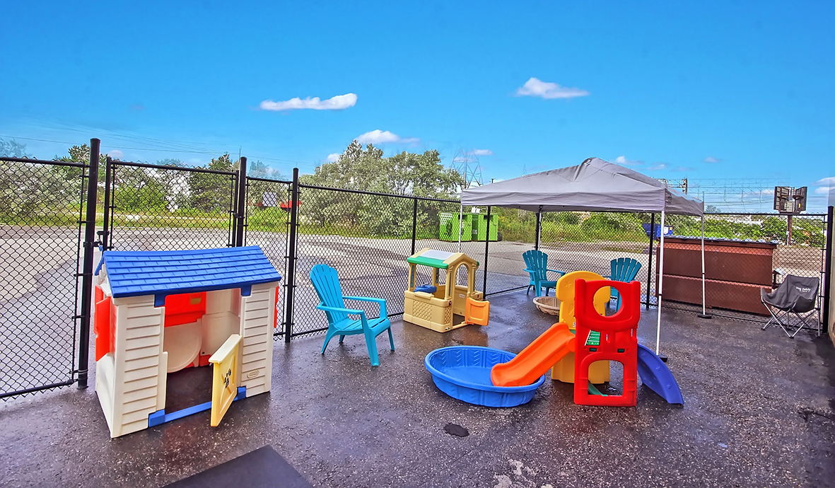 Wag Awhile Outdoor Play Area